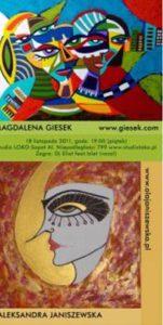 Plakat Magdalena Giesek