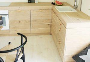 Drewniane blaty w kuchni